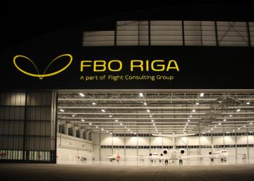 The number of business aviation flights handled by FBO RIGA has more than doubled in October 2015