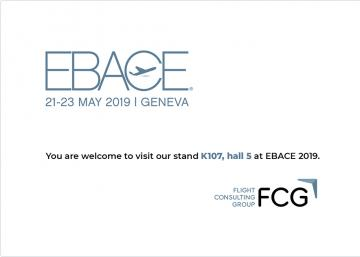 Flight Consulting Group will be exhibiting at EBACE 2019
